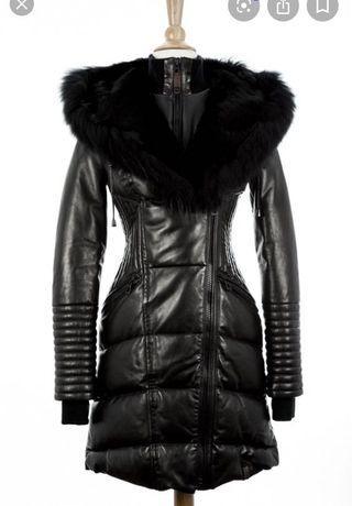 Rudsak lamb leather winter jacket