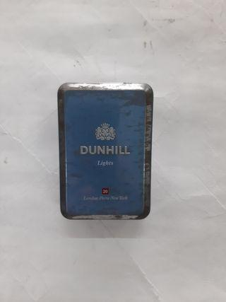 Vintage Dunhill steel box