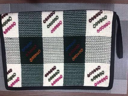 Handmade wool folder