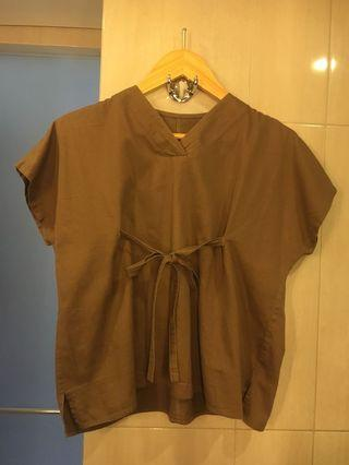 Cotton Top in Brown