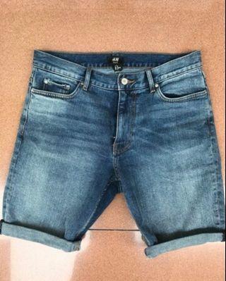 Short Pant Denim H&M size 28 New