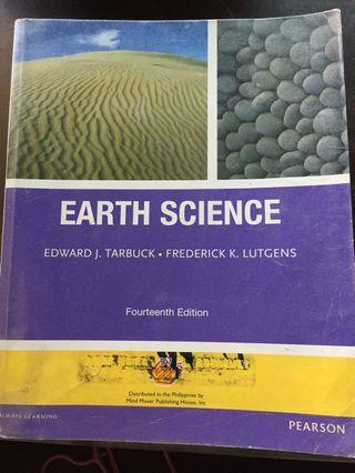 EARTH SCIENCE  14th ed TARBUCK LUTGENS PEARSON