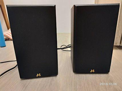 降價!!!聽覺震撼JS 全木質喇叭 JY2063