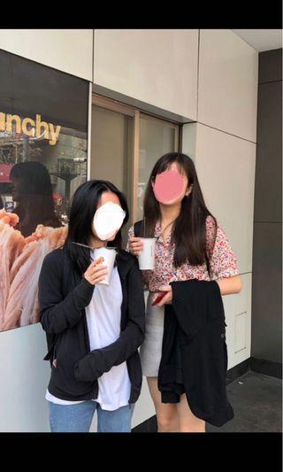 韓國小姐姐同款碎花浪漫短袖襯衫