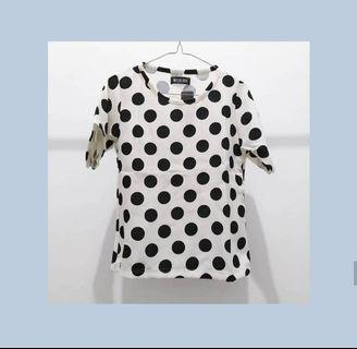 New blouse polkadot