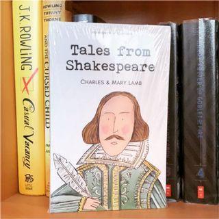 Shakespeare 全新原文書 莎士比亞故事集 英文小說 戲劇 外文系
