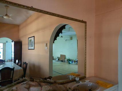 Huge mirror framed custom made
