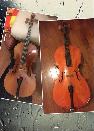 我的物品換物 大提琴或小提琴