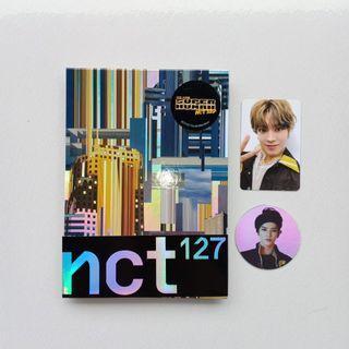 ALBUM NCT 127 SUPERHUMAN YUTA PHOTOCARD TAEYONG CIRCLE CARD