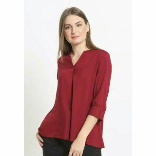 Rodeo Blouse Maroon