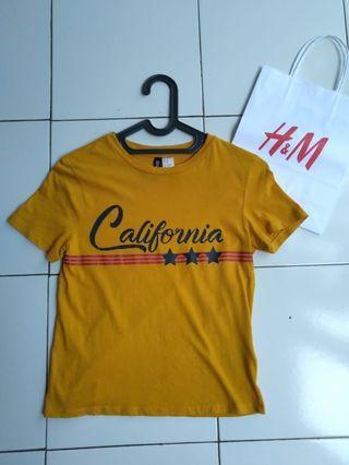tshirt h&m california