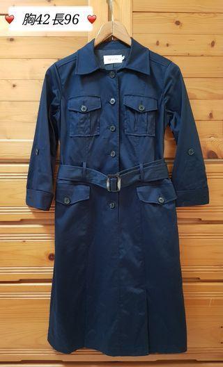 epa bis品牌深藍洋裝