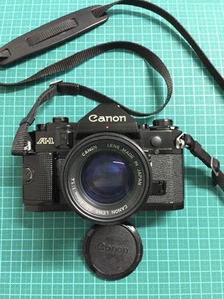 Canon A-1 & Canon Nfd 50mm f1.4