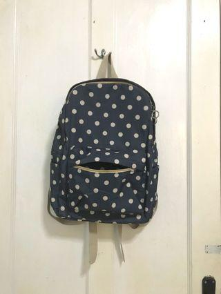 Backpack polkadot black