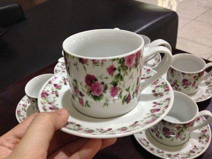 Set cawan / coffee set