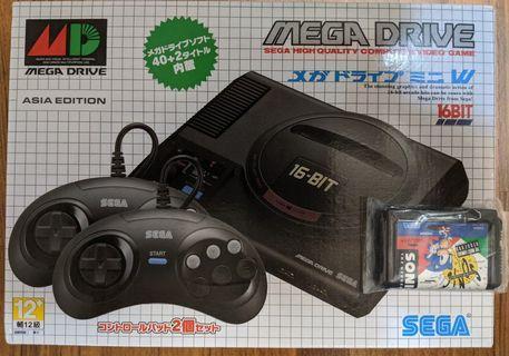 『SEGA Mega Drive Mini 復刻迷你遊戲機』
