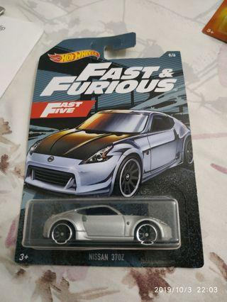 Hot Wheels Nissan 370Z Fast and Furious Walmart Exclusive 2019