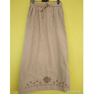 Rok Panjang katun cotton celana kulot