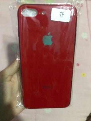 Red Hard Case iPhone 7 Plus / 8 Plus