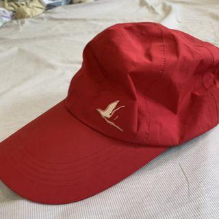 海鷗 gortex防水 紅 老帽