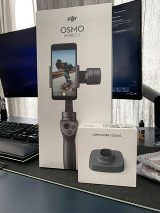 DJI Osmo Mobile 2 + base