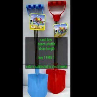 Sand toys beach shuffle (buy 1 FREE 1)