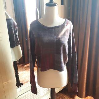 Topshop Crop Sweater