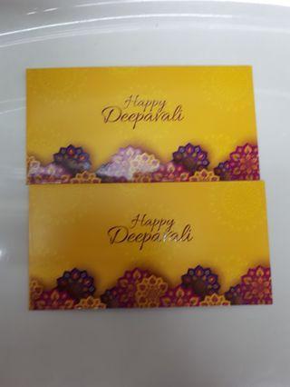 Angpao packet sampul duit deepavali Maybank