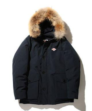 DANTON Tussah Down Jacket 42 L 連帽羽絨外套 東京購入 九成新