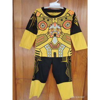 Baju Tidur anak piyama setelan baju anak cowok cewek laki kaos celana #1010flazz