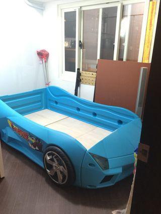 夢幻快車 跑車造型兒童床 車床