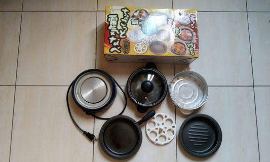 日式五合一電火鍋