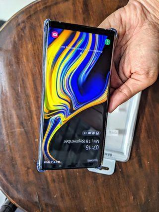 Samsung note 9 Sein Mulus Plastikan Termurah
