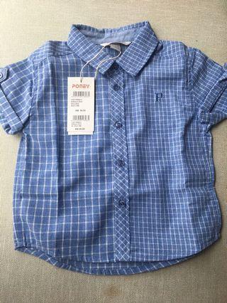 Poney checkered Shirt