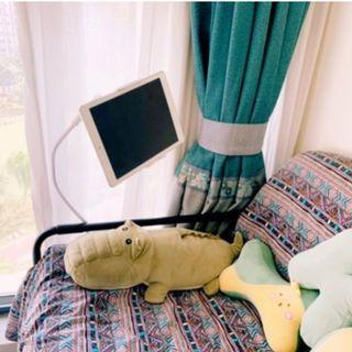 懶人支架 手機支架床頭手機架平板桌面通用加長直播看電視ipad夾子萬能支撐架宿舍床上支駕pad多功能固定神器