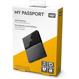 Western Digital 2TB Passport USB External 3 years warranty