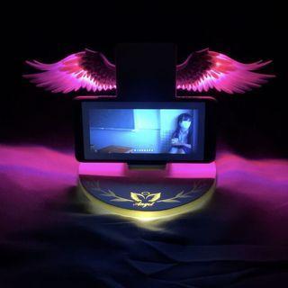 🔜👉三代👈🔙彩色天使翅膀無線充電座