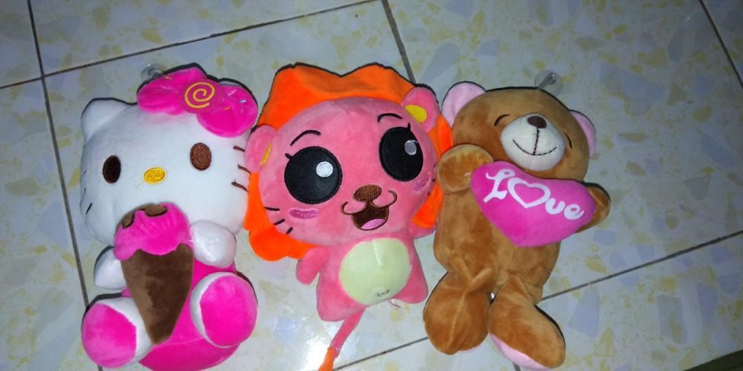 1set toys( 3toys) soft toys 💯💕
