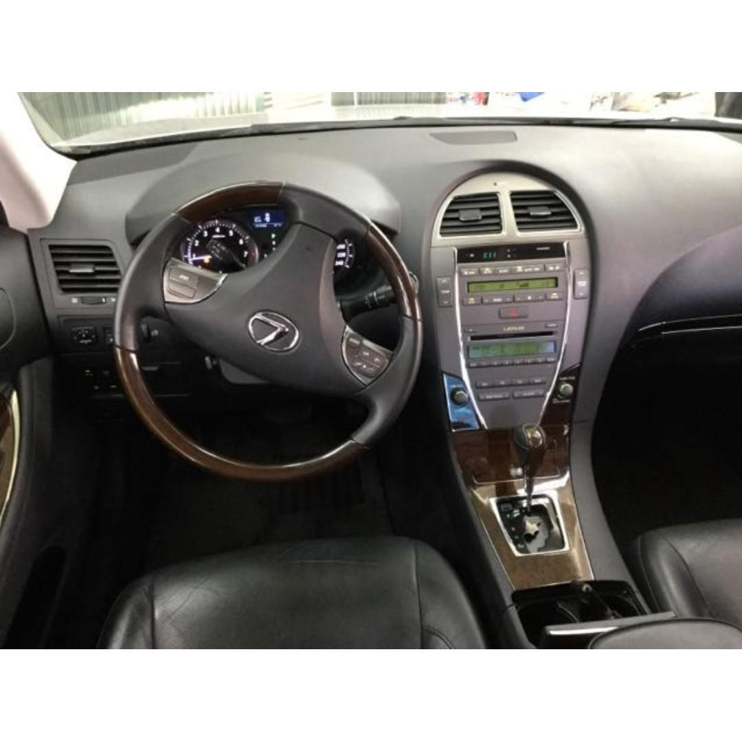 【精選超低里程優質車】2011年款 LEXUS ES240 2.4升【經第三方認證】【車況立約保證】