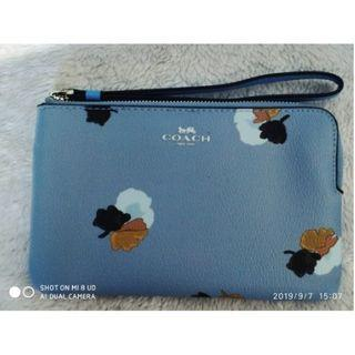 Coach pouch mini wallet