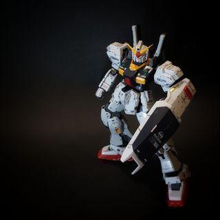 RG Gundam RX-178 MK-II A.E.U.G skala 1/144 sudah rakit