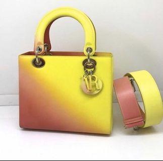 "Lady Dior Medium ""ombre"" resort 2014 limited edition"