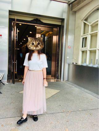 裸粉仙女裙