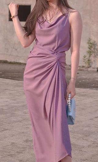 Purple wrap set