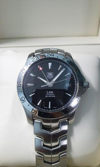 Tag Heuer Link GMT (like new)