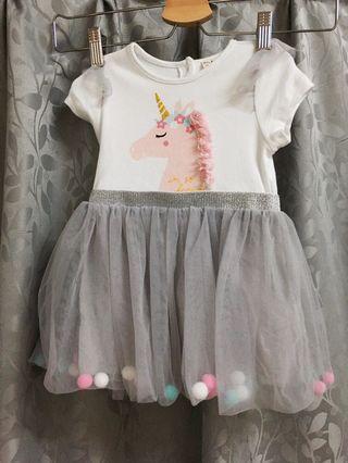 New Baby Pom Pom Dress