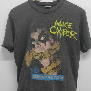 Vtg Alice Cooper band shirt