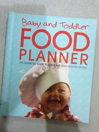 Baby and Toddler Food Planner