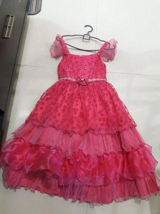 Gaun anak umur 6-8thn