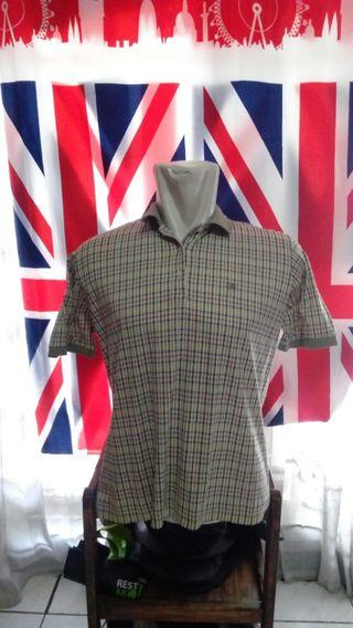 Vtg Polo Shirt DAKS London